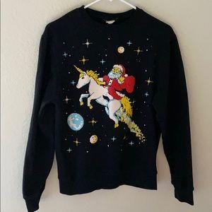FifthSun Unicorn and Santa coming your way.